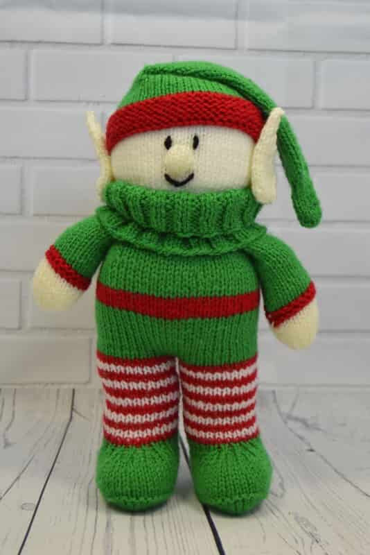Traduction Festive Friends - Elf - Knitting by post