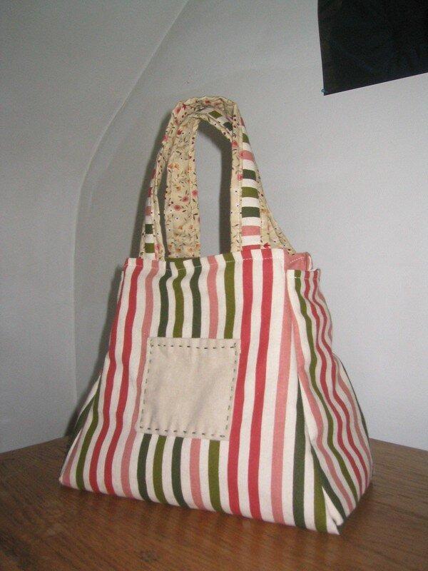 sac à tricot recto