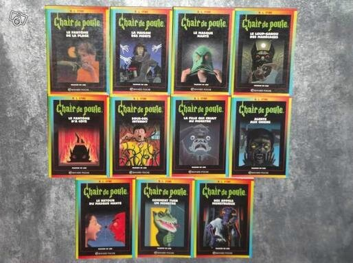 Quelques romans de R.L. Stine