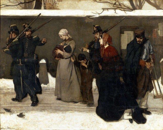 Alfred StevensCe qu'on appelle le vagabondage1855Orsay