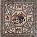 One of the most impressive and largest mosaics in israel will be re-exposed
