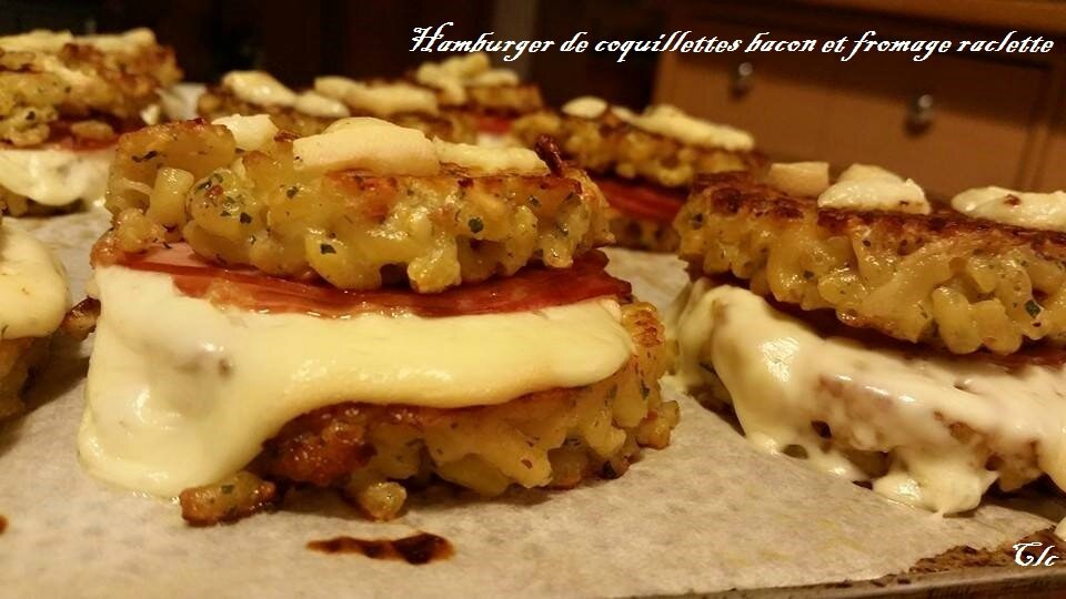 Hamburger Coquillettes Bacon Fromage