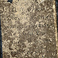 Fleury antoine (mouhers) + 07/04/1915 zuydcoote (59)