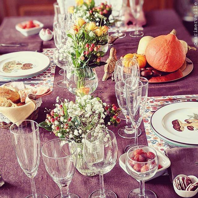 Table d'automne - ©marimerveille