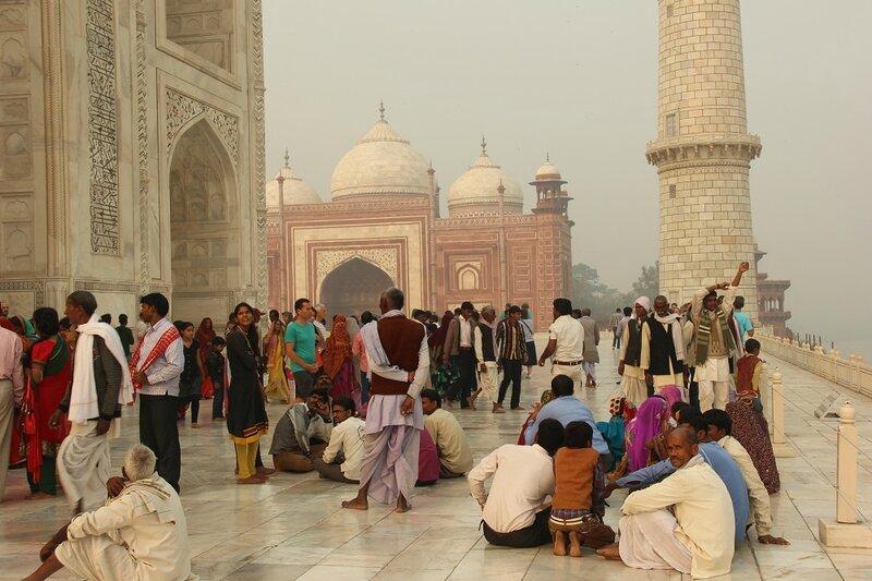 Agra Taj Mahal Photo ML Henry