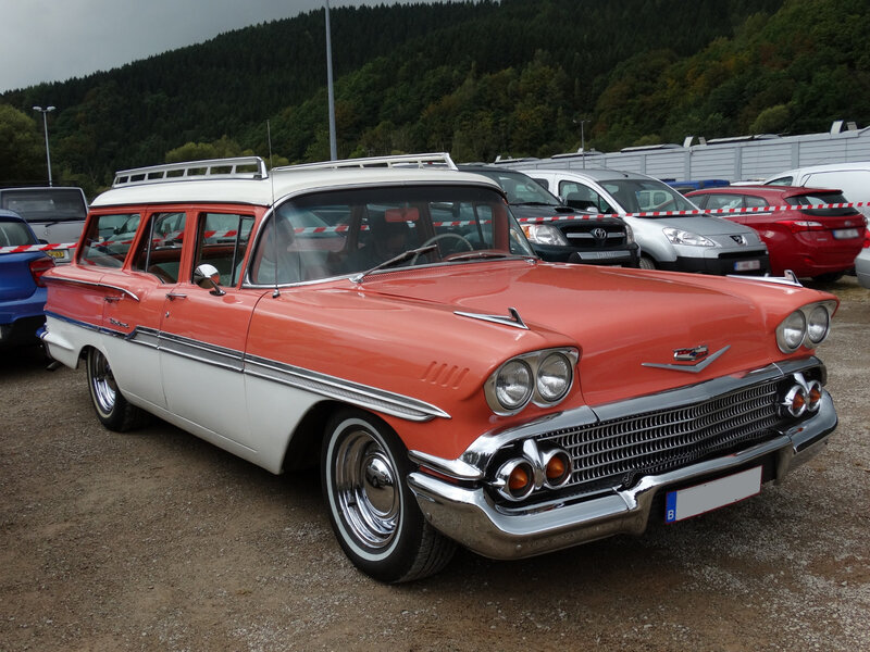 CHEVROLET Brookwood 4door Station Wagon 1958 Malmedy (1)