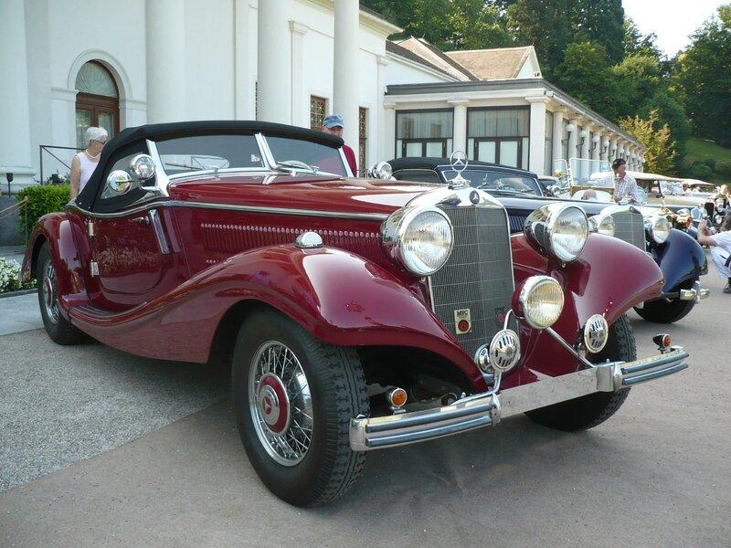 MERCEDES 320 W142 roadster 1938 Baden Baden (1)
