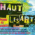 Exposition haut les arts du 23 au 29 avril