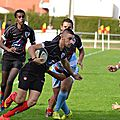 14-15, juniors x Libourne, 18 octobre 14, album de J.-P. Vergnau