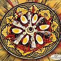 Salade méchouia aux sardines