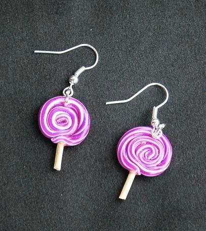 Bo sucettes violettes et fushia proposition pour Magalie
