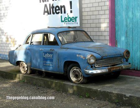 Wartburg 1000 berline (Offenbourg) 01
