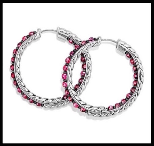 david yurman creoles osetra