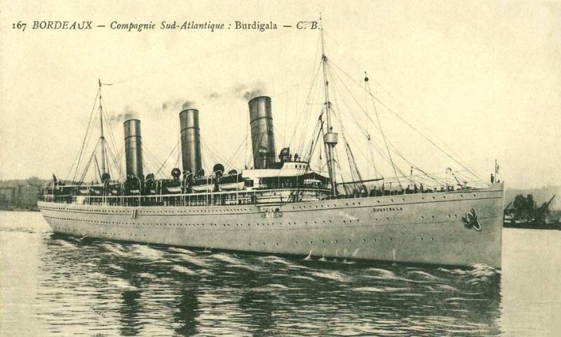 BURDIGALA (1912-1916)