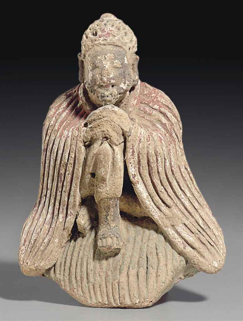 2011_NYR_02518_1215_000(a_rare_clay_figure_of_sakyamuni_buddha_possibly_tang_dynasty)