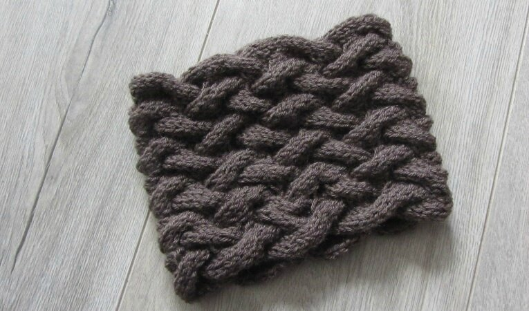 snood marron 2