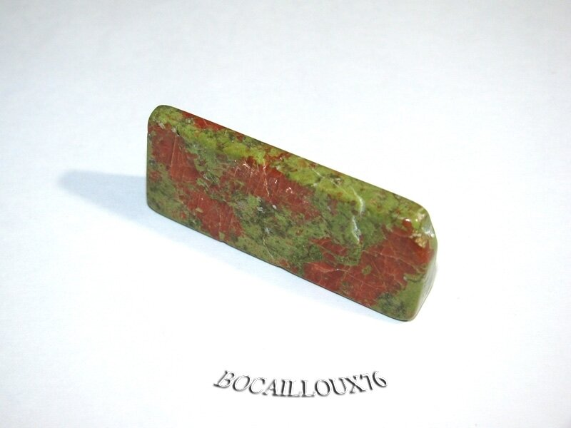 PORTE COUTEAU UNAKITE 10 - 43x18x9mm - ART DE LA TABLE