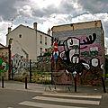 Instantané rue Marcel Dufriche à Montreuil.