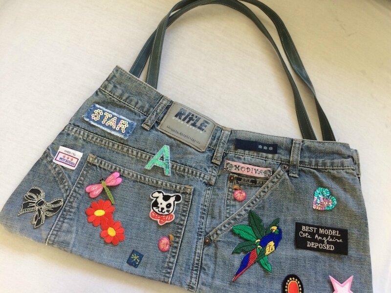 Upcycling, jean, sacs, patchs… La Petite Mercerie - LPM - Emmaüs Le Plessis-Trévise
