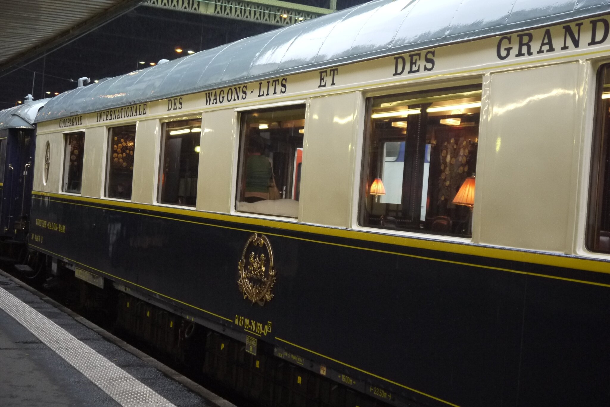 Voiture Pullman Salon Bar (Train Bleu)