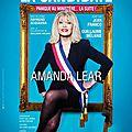 La candidate avec Amanda Lear