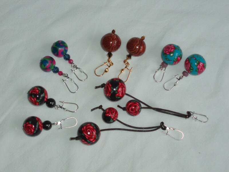 selection earrings