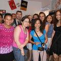 Magned, Mona et les enfants du collège La Mère de Dieu, Le Caire, Egypte, 15-07-10
