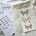 Transfert Marimerveille papillons N° 3