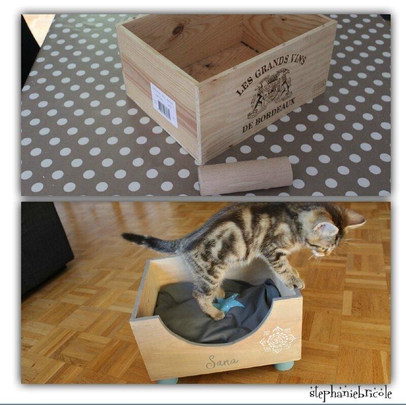 faire un panier pour chat