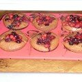 Muffins choco- fruits rouges
