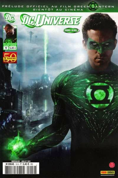 panini dc universe hs 19 green lantern