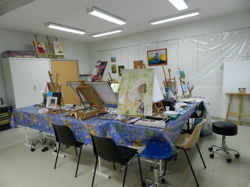Notre atelier après une rénovation complète
