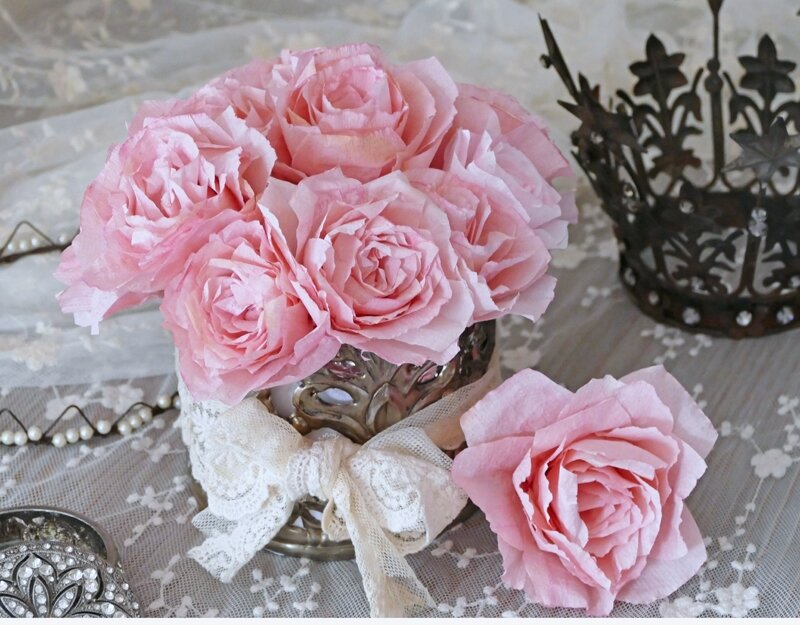 Roses couronnes
