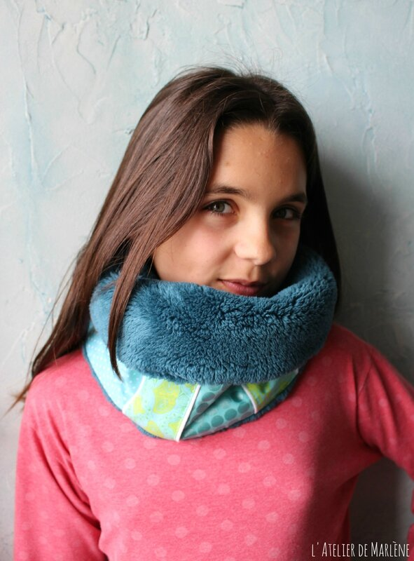 Snood porté