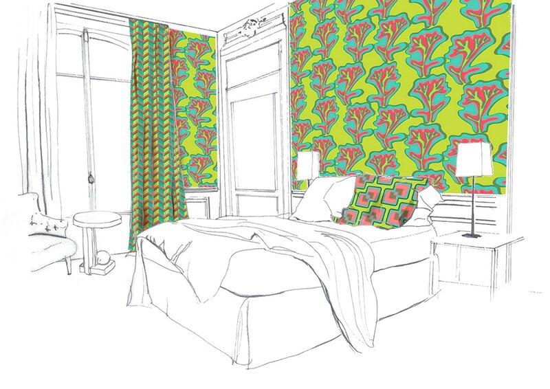 chambre-papier-agua