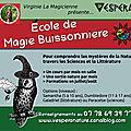 Ecole de magie buissonnière - 2019