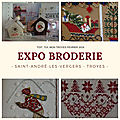 Expo broderie st andré les vergers