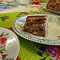 Glamis walnut and date cake ...gâteau aux noix et aux dattes