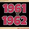 .CLASSE en : 1961 / 62