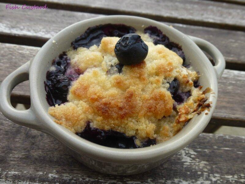 Porridge crumble aux myrtilles (11)