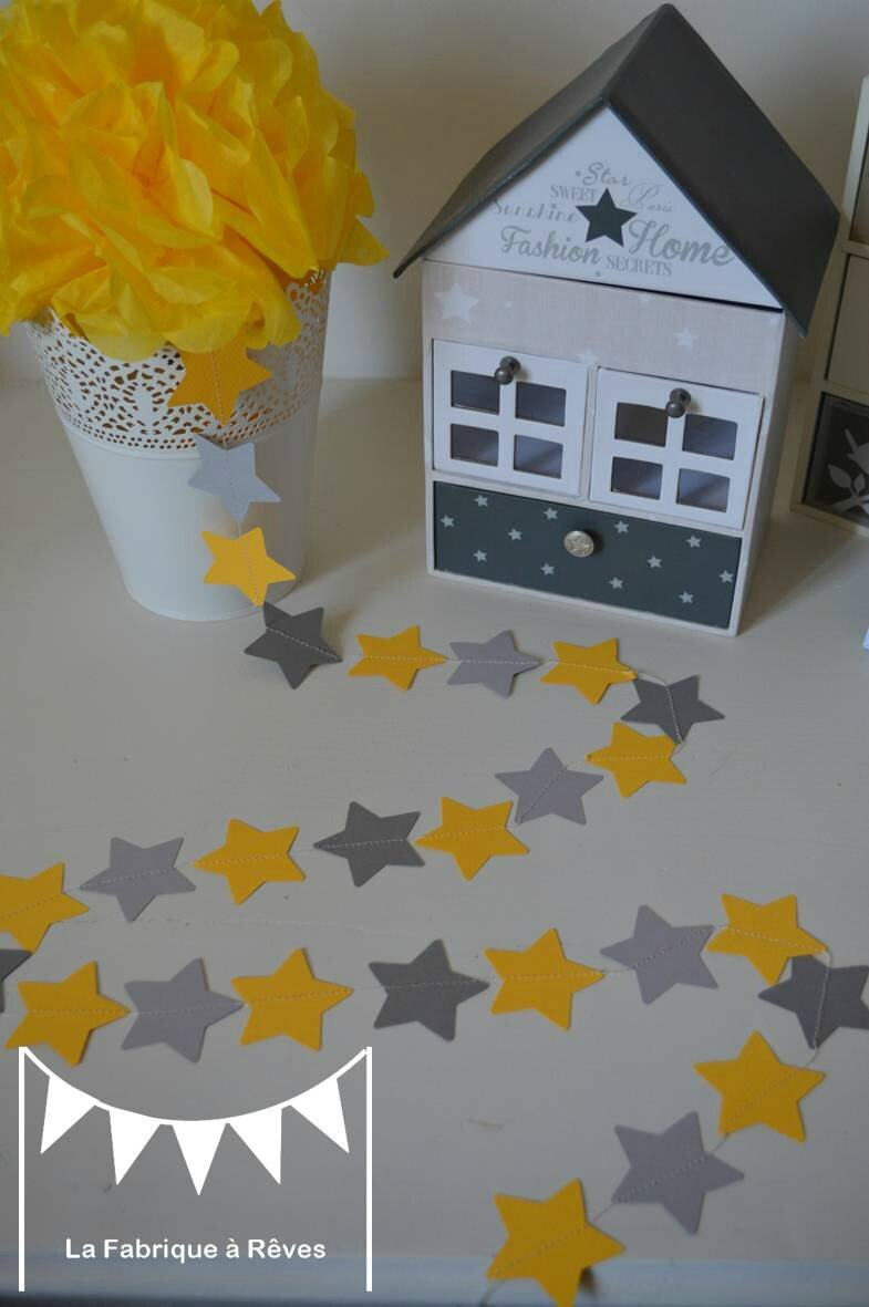 Decoration Jaune Enfant