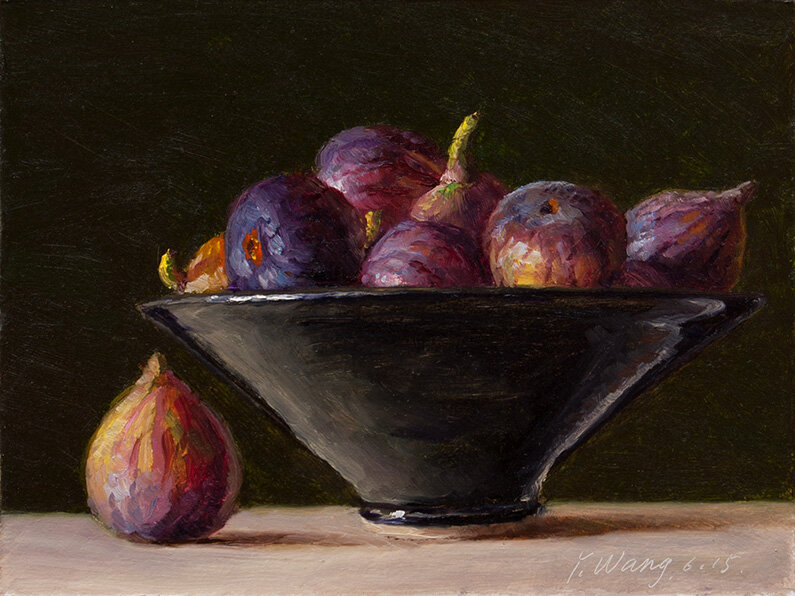 fresh fruits figs in a bowl Eugene Wang