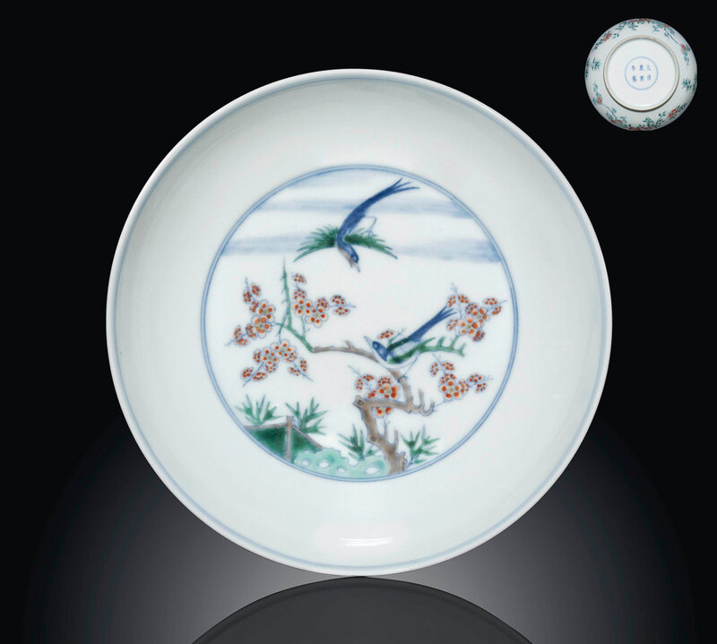 2012_CKS_05305_0314_000(a_doucai_magpie_dish_kangxi_underglaze_blue_six-character_mark_within)