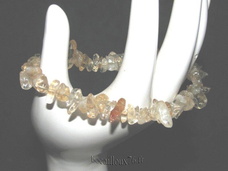 Bracelet CITRINE 1 Chips (5)