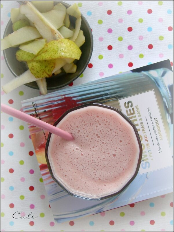 Smoothie Poire-Canneberge 001
