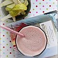 Smoothie poire canneberge
