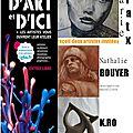 2 artistes invitées aux portes ouvertes des 18 et 19 octobre, d'art et d'ici