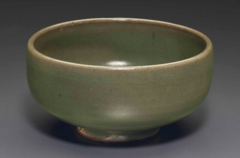 A small green Junyao bowl, Song-Jin dynasty, 12th-13th century