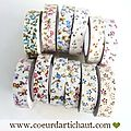Fabric tape - adhesis tissu decoratif