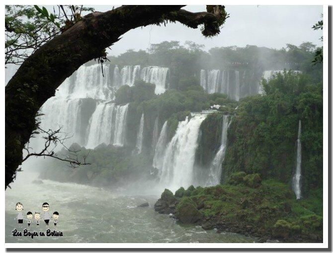 Les chutes d'Iguaçu (argentine)